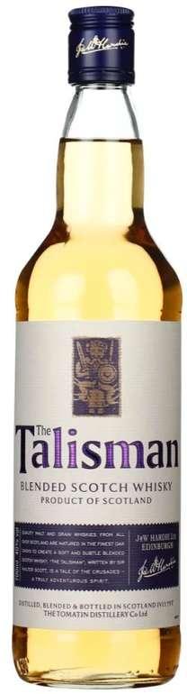 The Talisman Finest Blended Scotch Whisky (0,7 Liter, 40% Vol.) für 14,45€ inkl. Versand (statt 20€)