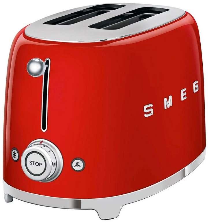 Smeg TSF02 Langschlitz-Toaster für 4 Scheiben für 105,78€ (statt 149€)