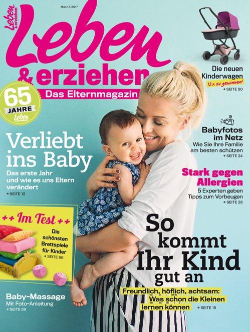 """4 Ausgaben der Zeitschrift """"Leben & erziehen"""" für 4€ (statt 12€)"""