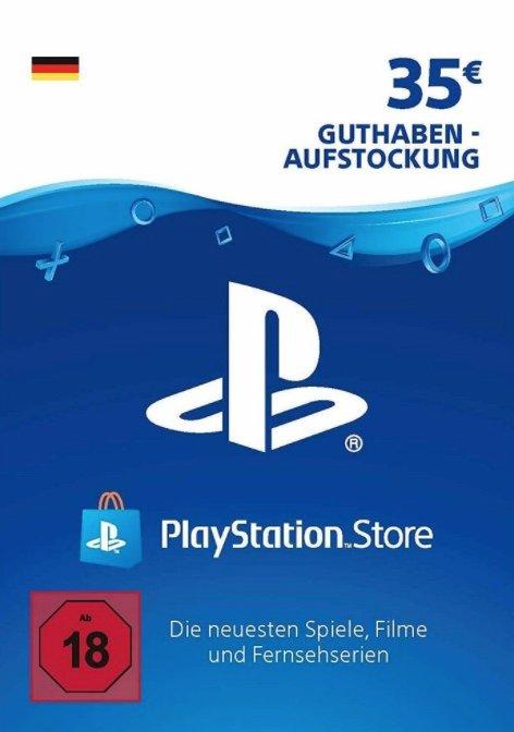 35€ PSN PlayStation Network Guthaben für nur 27,99€