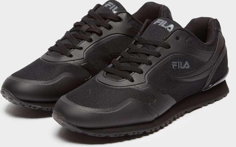 Fila Forerunner 18 Herren Sneaker in schwarz für 25€ inkl. Versand (statt 50€)