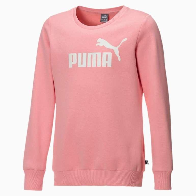 Puma Mädchen Fleece Sweatshirt mit Rundhals in 2 Farben für je 11,96€ inkl. Versand (statt 15€)
