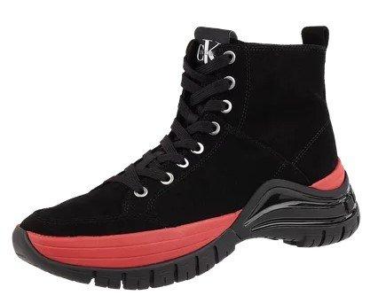 Calvin Klein Jeans High Top Sneaker aus Veloursleder für 67,49€ inkl. VSK (statt 80€)