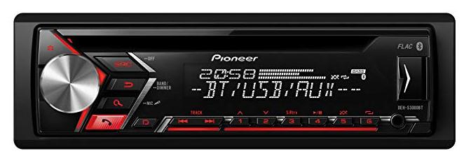 Pioneer DEHS3000BT - 1DIN Autoradio für 59,99€ inkl. Versand (statt 70€)