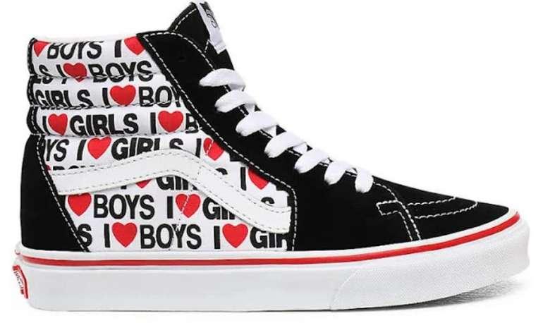 """Vans Sneaker """"UA SK8-Hi"""" in rot / schwarz / weiß für 42,32€ inkl. Versand (statt 63€)"""