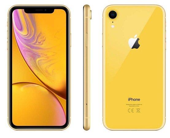 iPhone XR mit 256GB Speicher in Gelb für 799,29€ inkl. VSK (statt 904€)