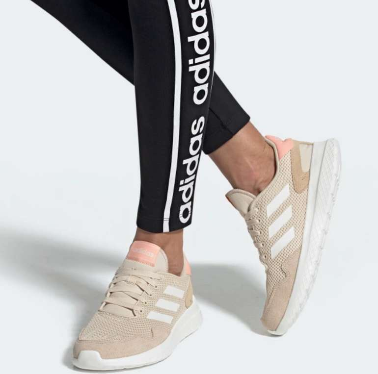 Adidas Archivo Frauen Laufschuh in beige für 35,07€ inkl. Versand (statt 52€)