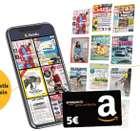 """2 Monate die Readly """"Magazin Flatrate"""" kostenlos testen + 5€ Amazon Gutschein (ab dem 3. Monat dann 9,99€ mtl.)"""