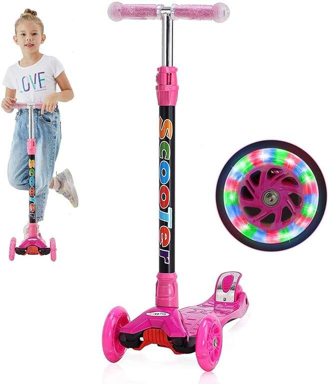 Yuanj Kinder Scooter mit LED PU Rädern für 27,94€ inkl. Versand (statt 43€)