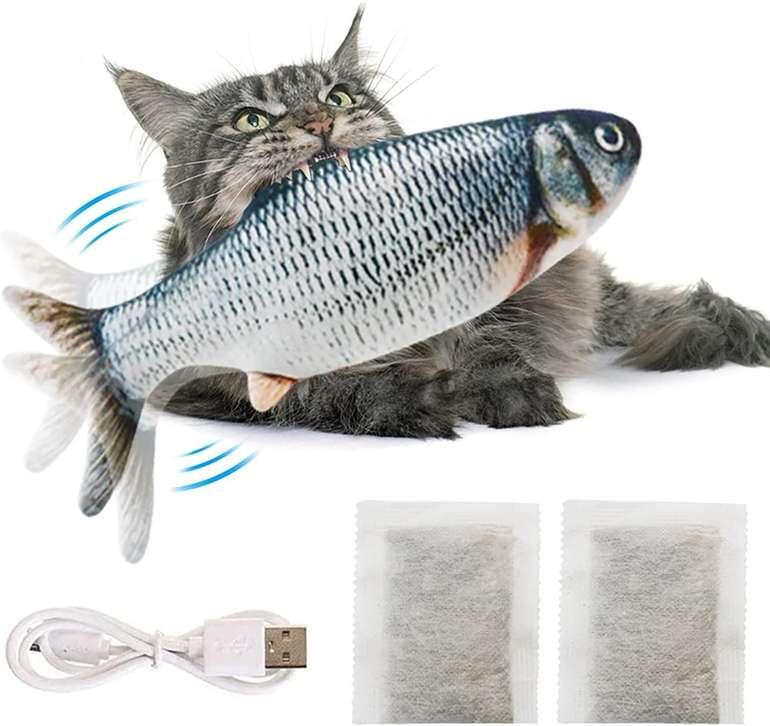 Legendog Fisch - Interaktives Katzenspielzeug für 3,99€ inkl. Prime Versand (statt 11€)