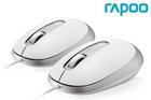 "4x Rapoo USB-Maus ""N3200 WH"" (1000 DPI, Plug und Play) für 9,95€ (statt 23€)"