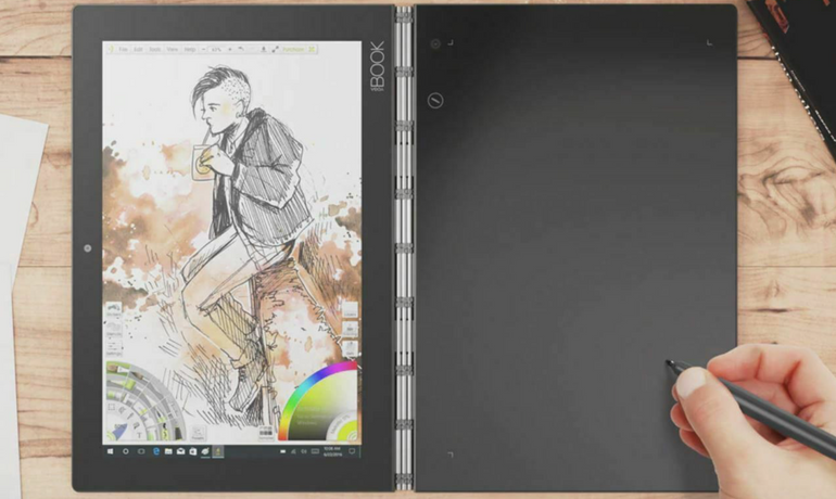 "Lenovo Yoga Book 2-in-1 (YB1-X91F) - 10,1"" (64GB Speicher, Quad Core) ab 269,10€"