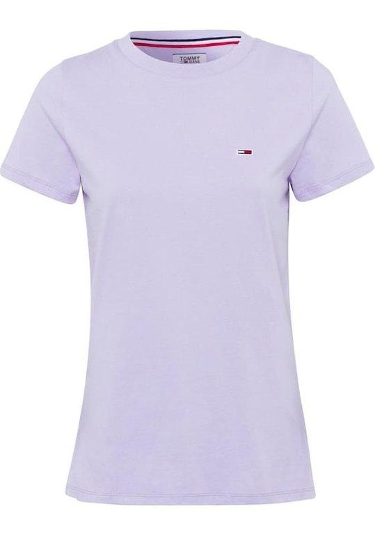 Tommy Jeans T-Shirt in pastelllila für 16,99€ inkl. VSK (statt 28€)