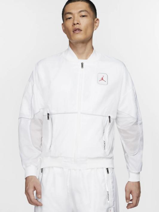 Jordan Legacy AJ5 Herrenjacke in weiß für 59,48€ inkl. Versand (statt 79€)