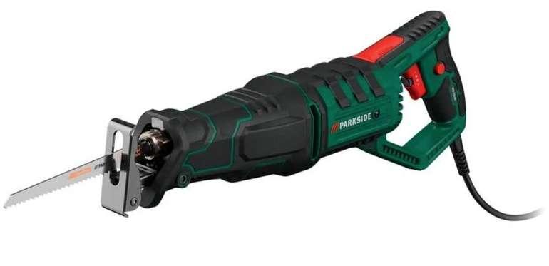 Parkside Säbelsäge PFS 710 D3 (710 Watt, max. 2.800 min-¹, Integrierte LED, Inkl. Tragekoffer) für 49,94€