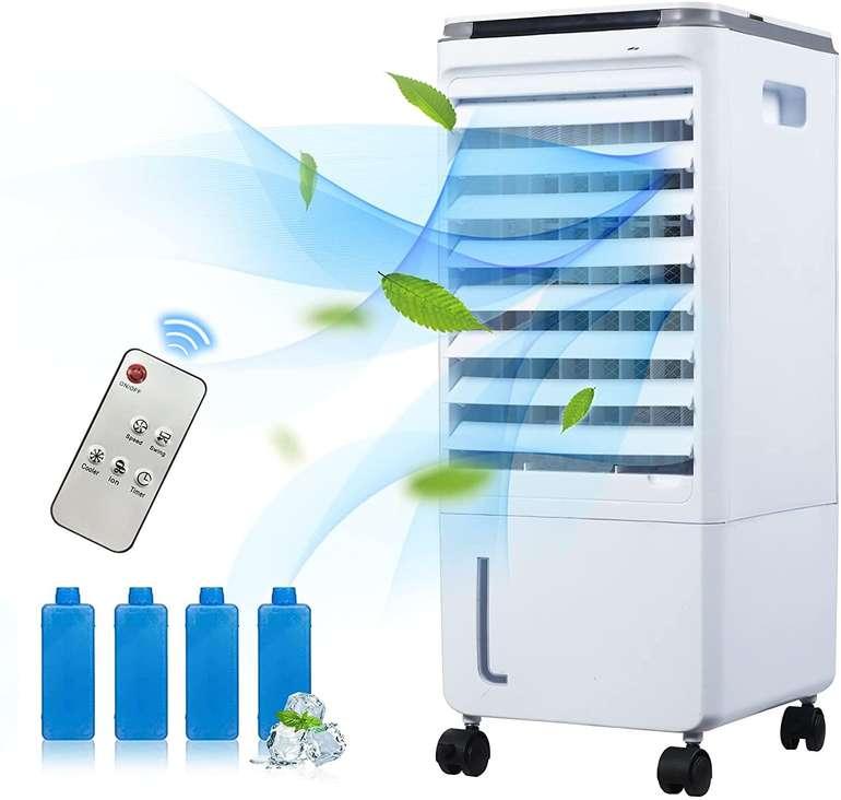 Geweo Klimagerät & Luftentfeuchter (Kühlung durch Kühlakkus) für 44,99€ inkl. Versand (statt 85€)