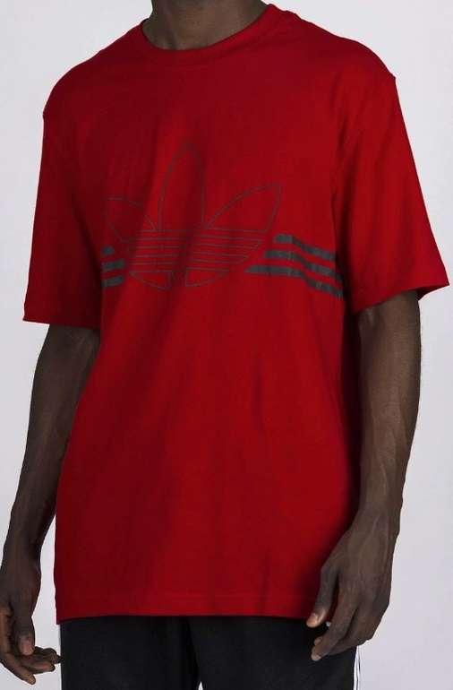 Adidas Originals Herren T-Shirt in rot für 9,99€ (statt 20€)