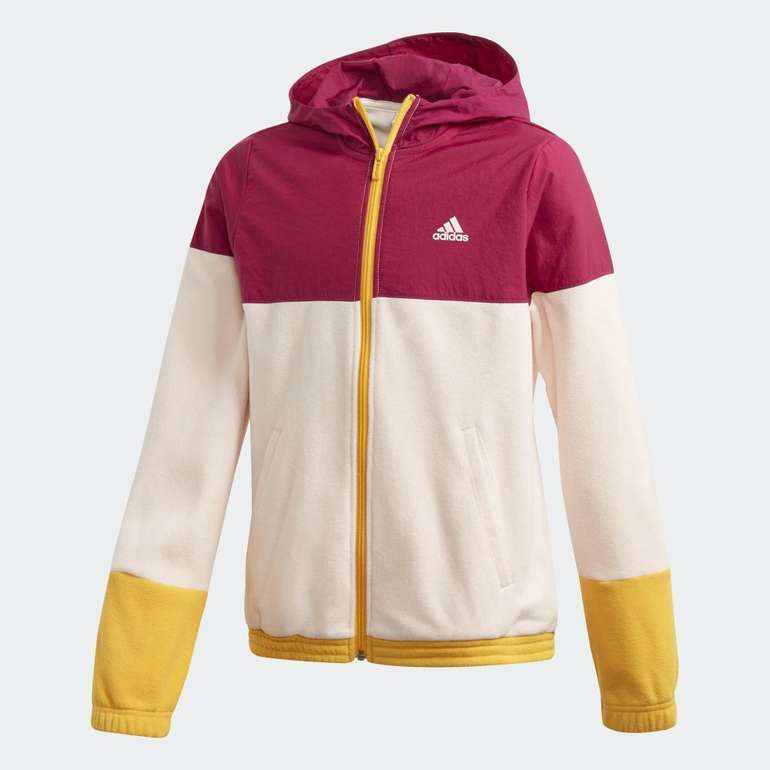 Adidas Classics Hooded Mädchen Trainingsjacke für 24,50€ inkl. Versand (statt 45€) - Creators Club!