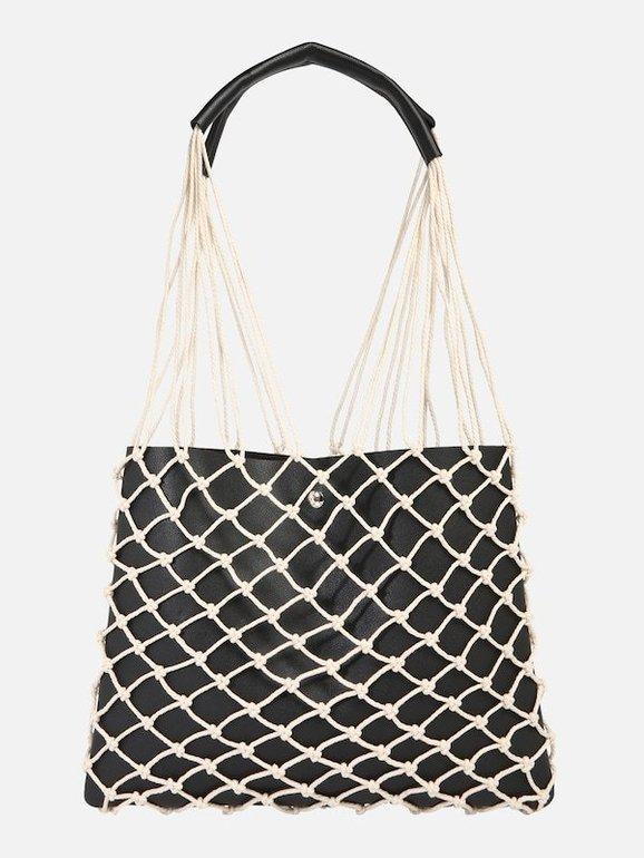 Mae & Ivy Damen Tasche 'Dora' in schwarz für 25,42€ inkl. VSK