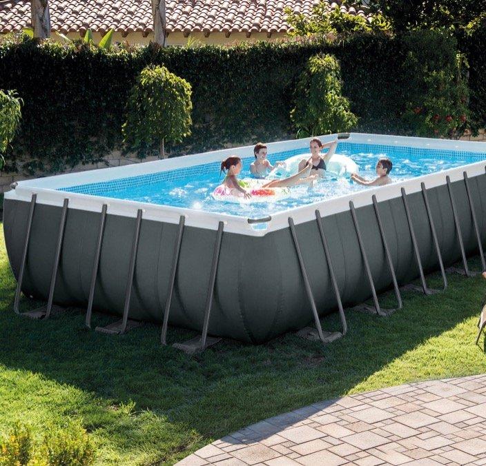 Intex Frame Pool Ultra Quadra XTR (732 x 366 x 132 cm) für 948,99€ inkl. Versand (statt 1899€)