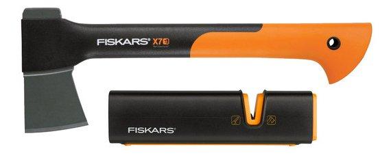Fiskars Bundle: Universalaxt X7 + XSharp Messerschärfer für…