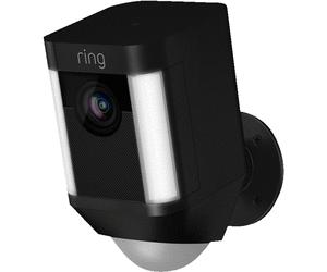 Überwachungskameras im Sale bei Media Markt - z.B. Ring Spotlight Cam für 179€