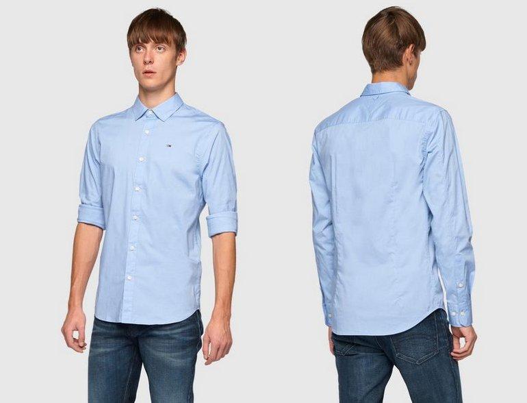 """Tommy Herren Jeans Hemd mit Kentkragen """"Original"""" für 44,90€ (statt 56€)"""