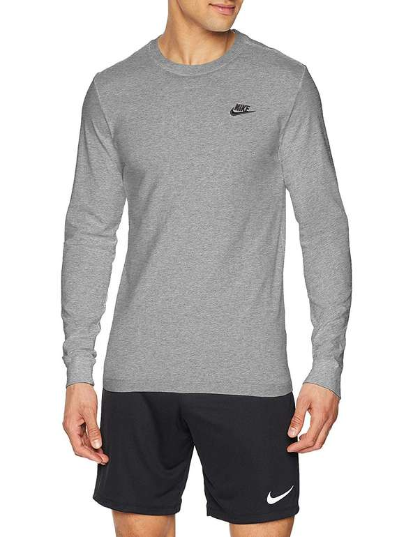 Nike Herren Sportswear Club Longsleeve in 3 Farben für je 16,24€ inkl. Versand