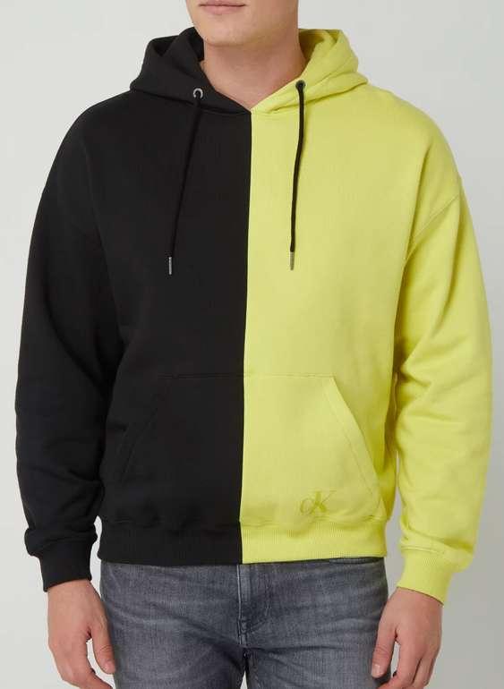 Calvin Klein Jeans Hoodie aus Baumwolle in Gelb für 39,99€inkl. Versand (statt 64€)
