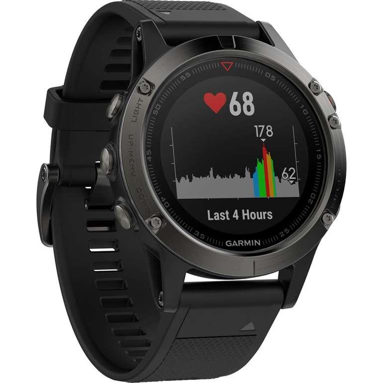 Garmin Fenix 5 Smartwatch, ca. 240 mm für 299€ inkl. Versand (statt 354€)