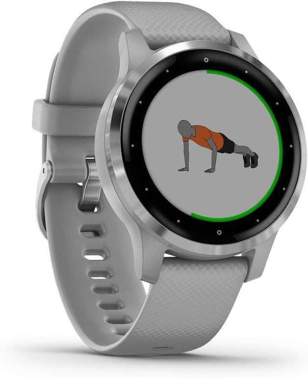 Garmin Vívoactive 4s – GPS-Fitness-Smartwatch ( Herzfrequenzmessung, 7 Tage Akku) für 201,99€ inkl. Versand (statt 227€)