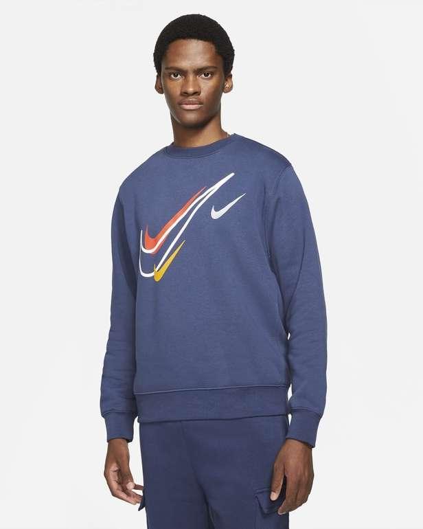 Nike Sportswear Fleece-Sweatshirt in 3 Farben für je 31,98€ (statt 40€) - Nike Membership!