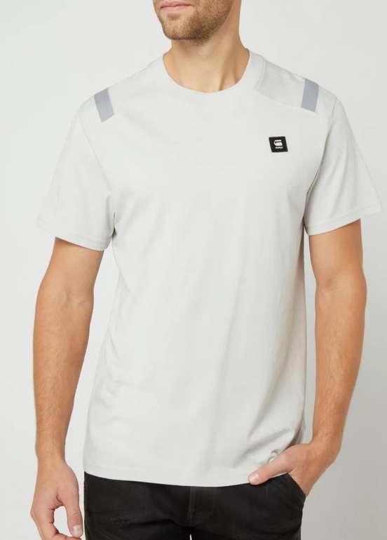 G-Star Raw Shoulder Tape Reflective T-Shirt in Weiß für 16,99€ inkl. Versand (statt 30€)