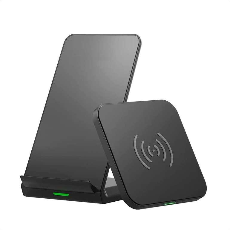 Choe Technology 2er Set Wireless Charger (7.5W/10W) für 13,99€ inkl. Prime Versand (statt 24€)
