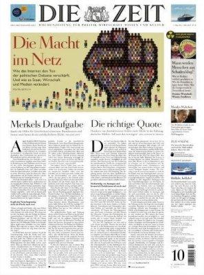"""Mini-Abo: 13 Ausgaben """"Die Zeit"""" für 65€ + 65€ Verrechnungsscheck"""