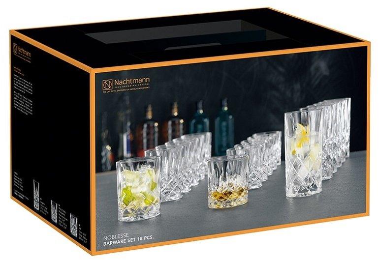 18-teiliges Nachtmann Noblesse Gläser-Set