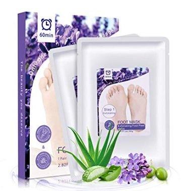 2 MayBeau Hornhaut Socken, Fußmaske Peeling - für 4,49€ inkl. Versand (statt 8€)