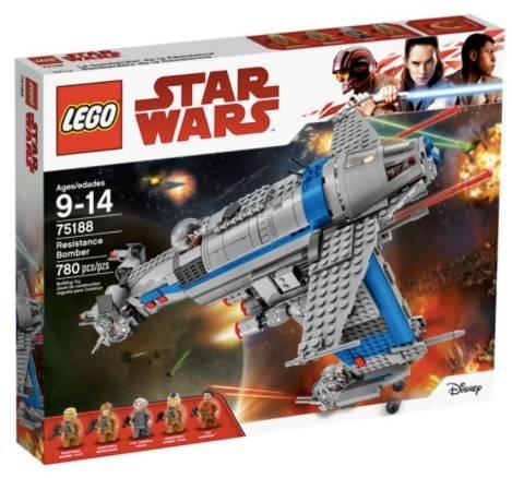 Lego Star Wars Resistance Bomber (75188) für 65,99€ (Vergleich: 89€)