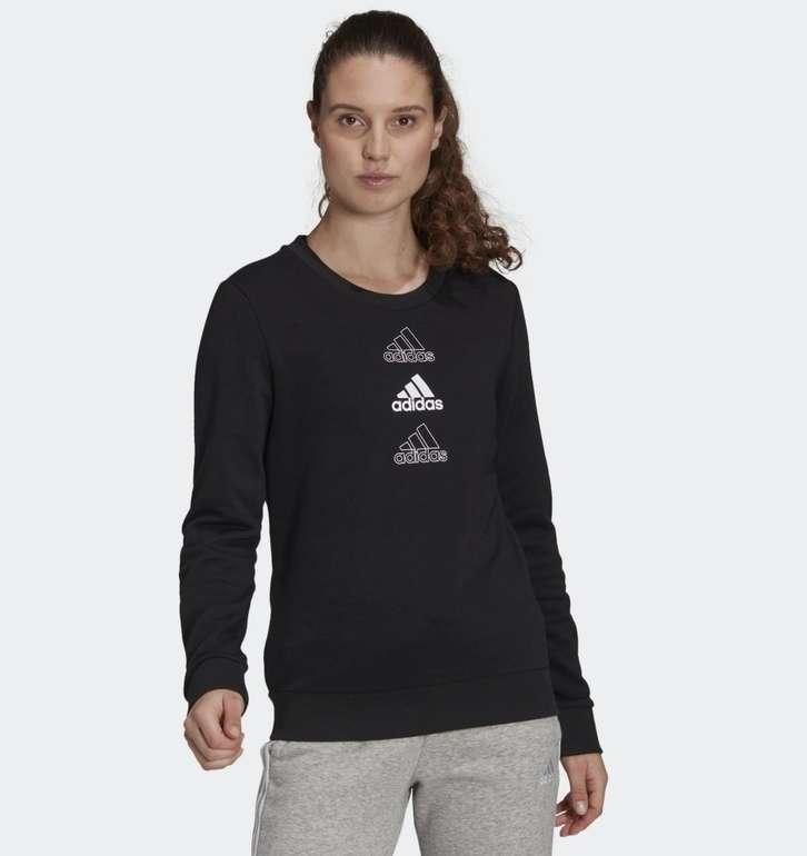 Adidas Essentials Stacked Logo Damen Sweatshirt für 21€ inkl. Versand (statt 33€) - Creators Club