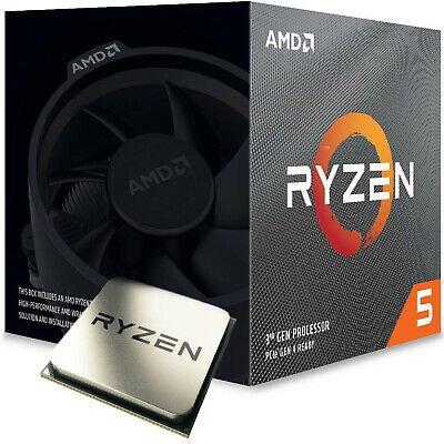 AMD Ryzen 5 3600 CPU 6x 3.60GHz Prozessor Sockel AM4 mit Kühler für 179,40€ (statt 201,89€)