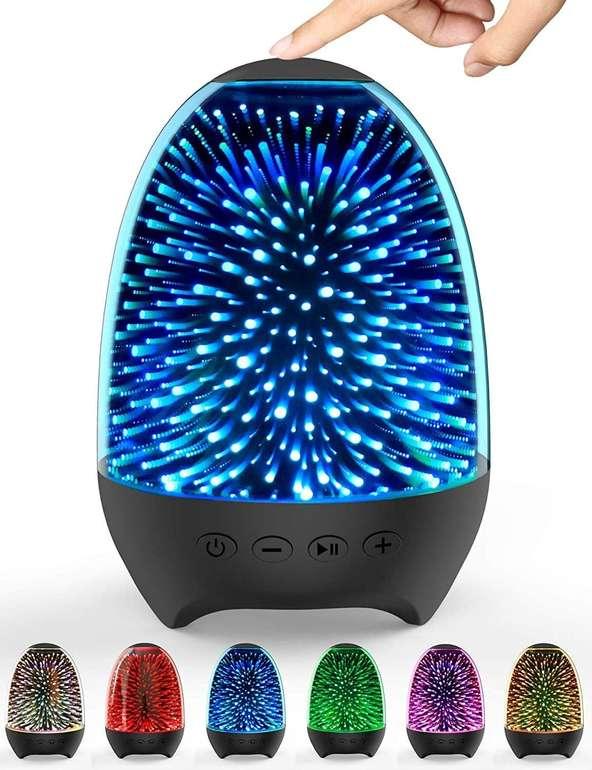 Aiscool LED Nachttischlampe mit Lautsprecher für je 12,49€ inkl. Prime Versand (statt 25€)
