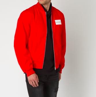 Peek & Cloppenburg* Final Sale bis -70%, z.B. Calvin Klein Bomberjacke für 150€