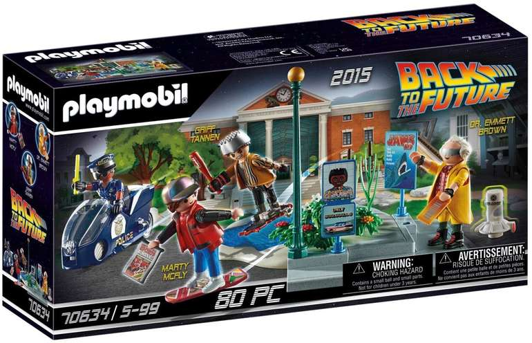 Prime Days: Playmobil Back to the Future mit Hoverboard (70634) für 20,99€inkl. Versand (statt 29€)