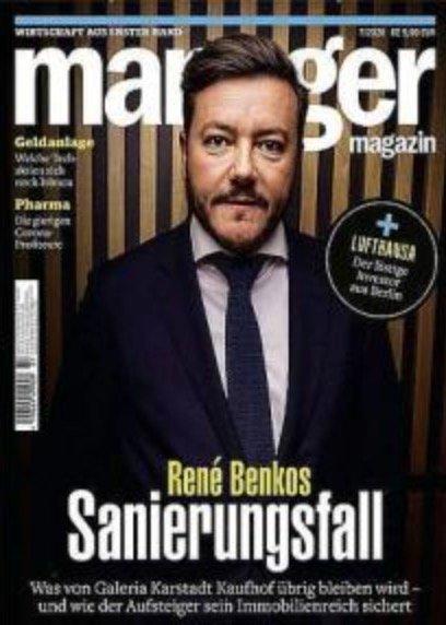 """Jahres-Abo """"Manager Magazin"""" mit 12 Ausgaben für 103€ + z.B. 85€ Bestchoice Gutschein"""