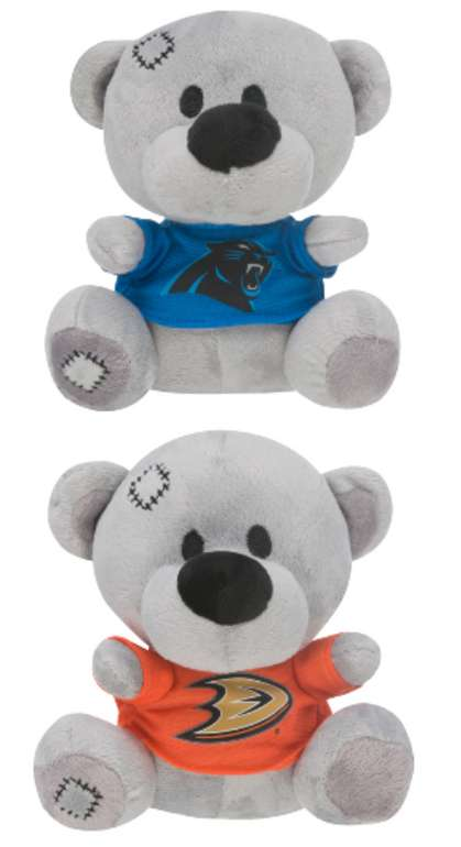 Verschiedene NFL/NHL Plüsch Teddybären zu je 5,99€ zzgl. Versand (statt 20€)