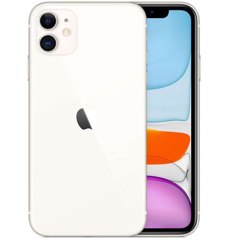 Apple iPhone 11 mit 64GB Speicher (79€) + o2 Free M Boost (40GB LTE, All-Net & SMS Flat) für 34,99€ mtl.