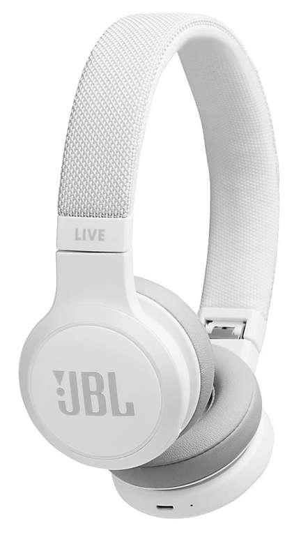 JBL Live 400BT Kopfhörer in weiß für 39,90€ inkl. Versand (statt 46€)