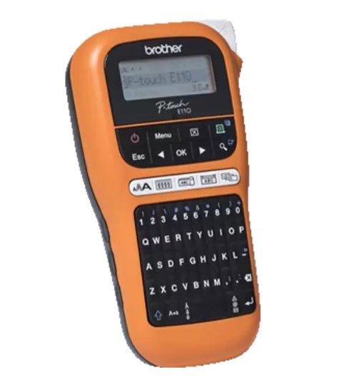 Brother PT-E110 Beschriftungsgerät in Orange/Schwarz für 25,98€ inkl. Versand (statt 32€)