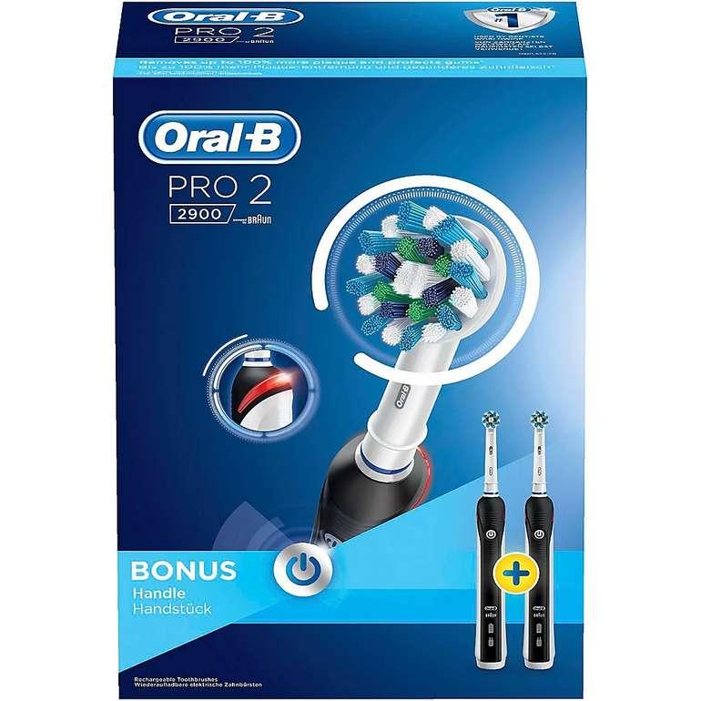 Doppelpack Oral-B Pro 2 2900 Cross Action Zahnbürsten für 49,50€ inkl. Versand (statt 55€)