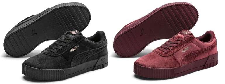 Puma Carina Velvet Damen Sneaker für 27,95€ inkl. Versand (statt 47€)